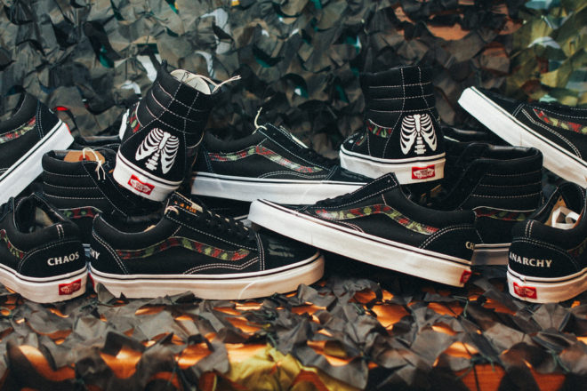 Custom+Vans+by+Mr.+SBTG+%22Anarchy+&+Chaos%22+Sk8+Hi+and+Old+Skool+for+Cover+by+Crossover-6