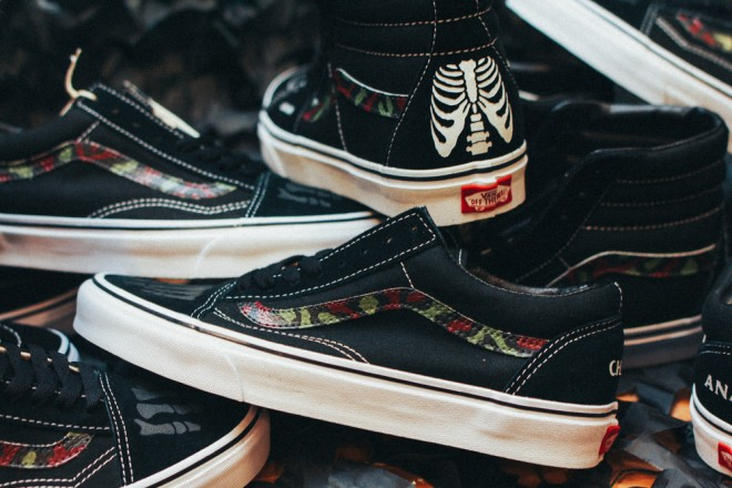 Custom+Vans+by+Mr.+SBTG+%22Anarchy+&+Chaos%22+Sk8+Hi+and+Old+Skool+for+Cover+by+Crossover-8